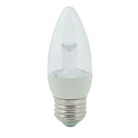 ecosmart light bulbs warranty ecosmart 25w equivalent soft white 2700k b11 clear blunt