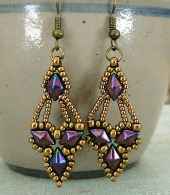 free earring patterns seed s crafty inspirations free beading pattern