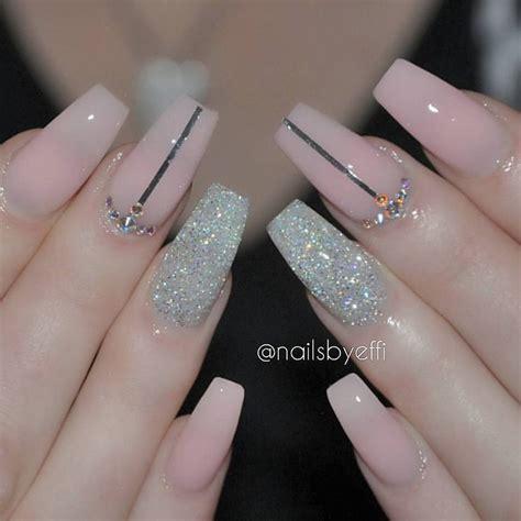 imagenes de uñas acrilicas con tip cristal las 25 mejores ideas sobre u 241 as decoradas elegantes en