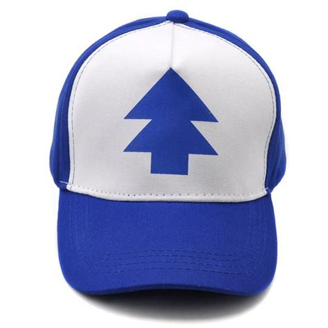 Topi Trucker A 01 1 fashion gravity falls cap blue pine tree trucker hat trucker caps new curved bill dipper