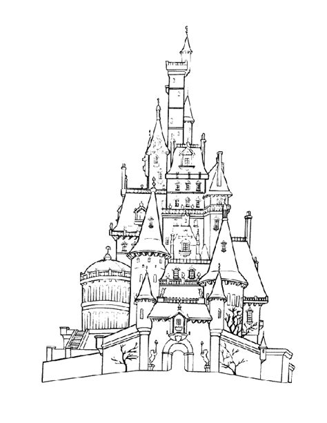 disneyland coloring page coloring home