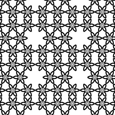 vector pattern deviantart simple vector flower pattern design by 123freevectors on