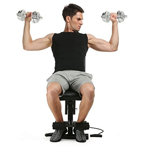 sit up bench exercises with weights ancheer adjustable weight bench sit up incline decline