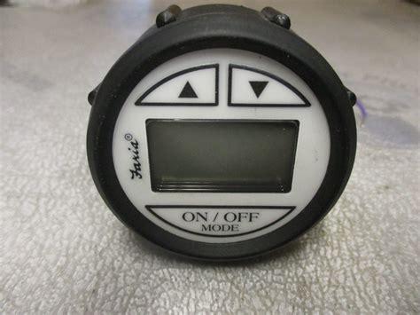 digital depth gauge for boats ds0100a faria marine boat digital depth finder gauge 2
