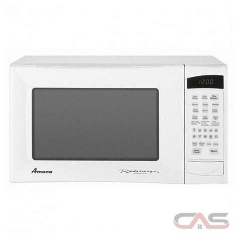 amana radarange amc5101aaw 20 quot countertop microwave oven