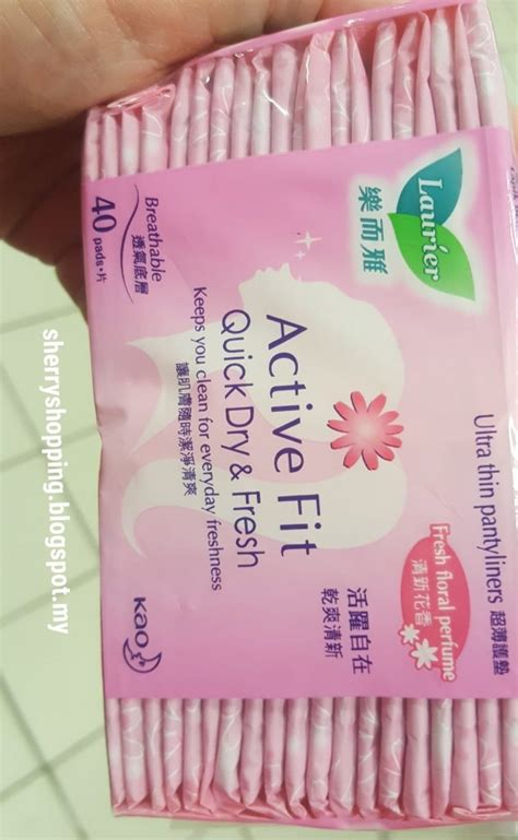 Laurier Pantyliner Active Fit laurier pantyliner active fit unscented reviews