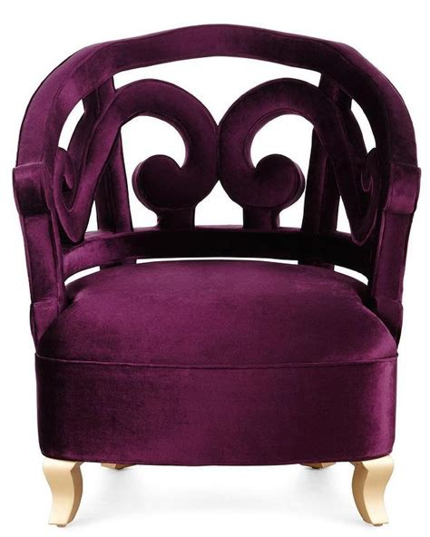 plum velvet accent chair purple accent chairs chairs seating