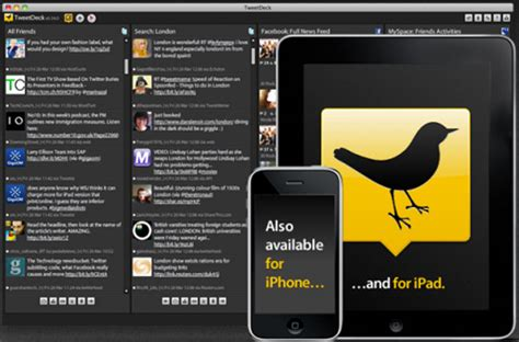 tweetdeck for android tweetdeck for ios and android to may 7th