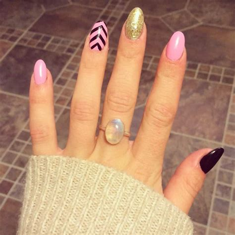 oval shaped acrylic nail designs  nail lovers
