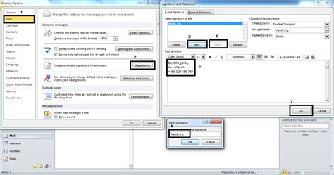 design html signature outlook 2010 nit solution how to create signature in microsoft outlook