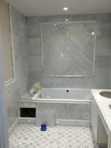 Installing A Vanity Light Edmonton Tile Install White Marble Bathroom River City