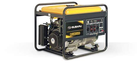 rgx6500 e industrial generator subaru