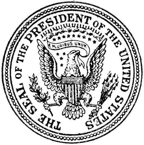 file 1894 us presidential seal jpg wikimedia commons