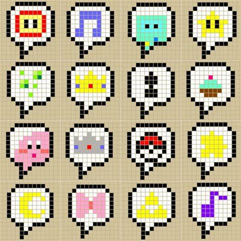 bit pattern in c speech bubble perlerbead patterns designed by me