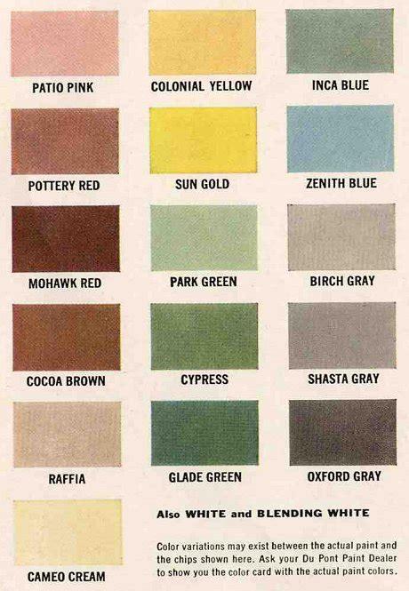 60s colors exterior colors for 1960 houses retro renovation