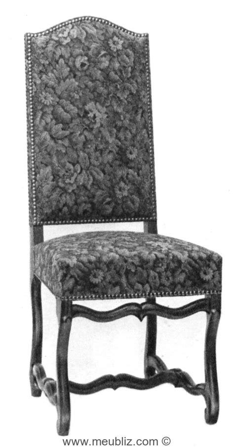 chaise louis xiii chaise louis xiii garnie 224 grand dossier et pi 233 tement en