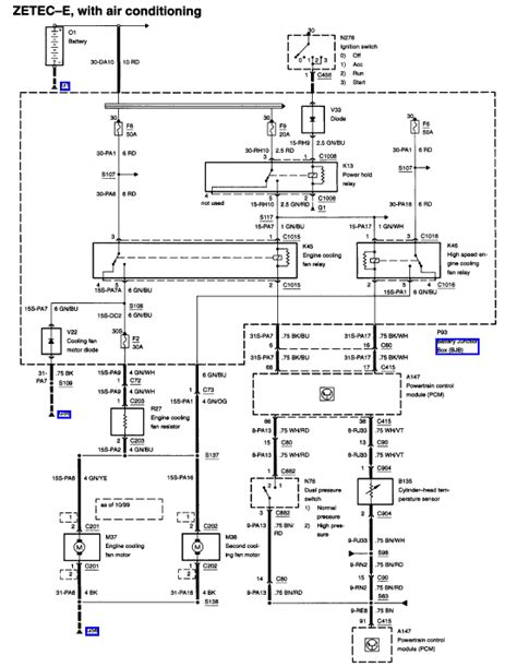 2001 ford focus ignition wiring diagram efcaviation