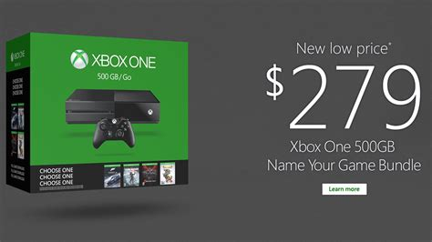 one price xbox one price drops again to 279 the verge