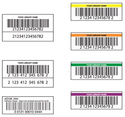 barcode label template library media item barcode labels computype