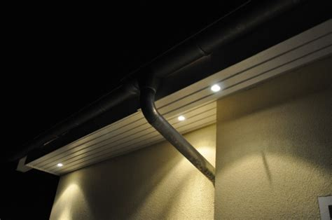 beleuchtung dach berstand spots im dachkasten fotos kosten f r licht im dach