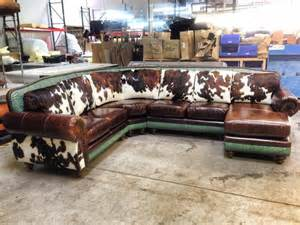 Cowhide Western Furniture Cowhide Couch For The Home Pinterest