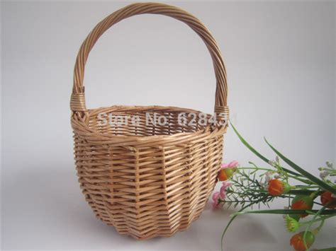 Handcrafted Baskets - free shipping willow handcrafted basket wicker flower