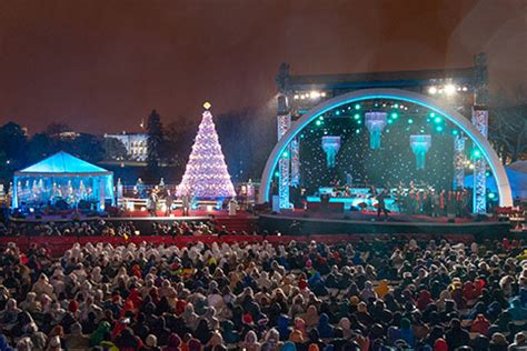 national christmas tree lighting event