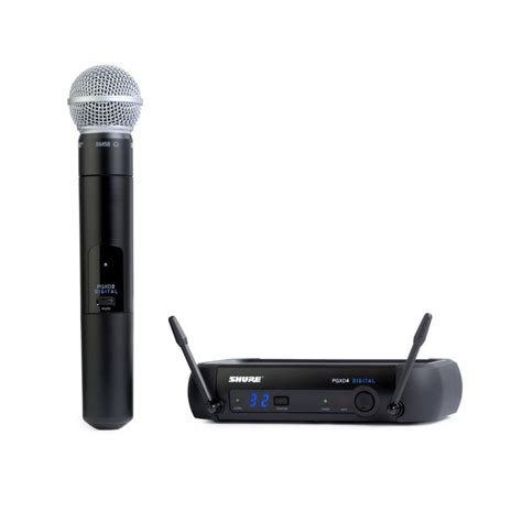 New Mic Wireless Shure T 42 Handheld shure pgxd24 sm58 wireless microphone system pro audio