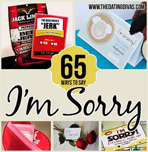 65 ways to say quot i m sorry quot creative haha and marriage
