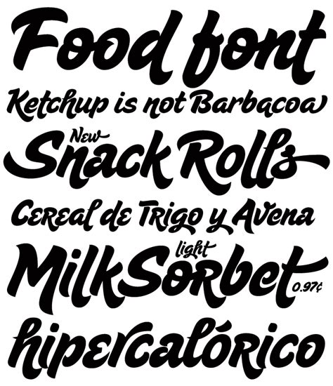 font design freeware foodie font sugar pie by sudtipos type typography