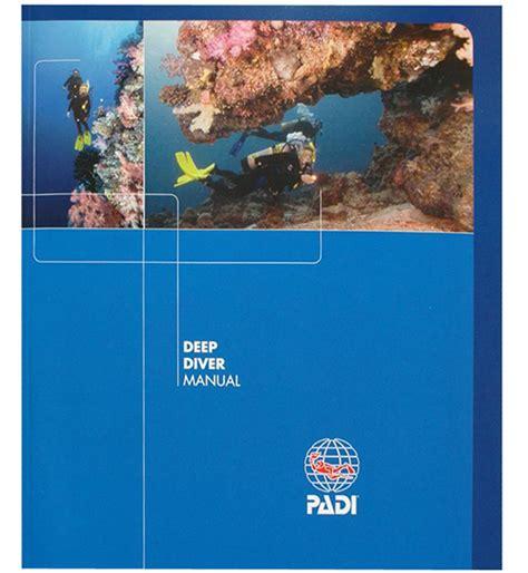 Padi Deep Diving Specialty Manual Pd79300