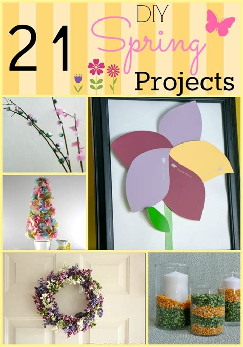 spring diy projects 21 diy spring projects amotherworld