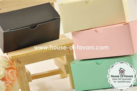 gift box kotak garis black large 11cm x 5cm x 5cm rectangle favor box as low as rm0 48