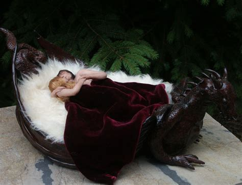 dragon bed medieval dragon bed