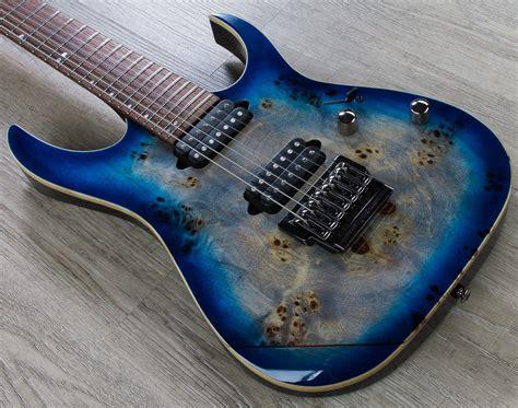 Guitar Atau Gitar Ibanez Rg Premium 7 String Atau Senar 7 Second ibanez rg1027pbf cbb rg premium 7 string guitar cerulean