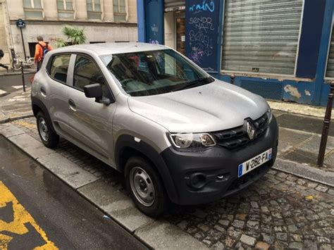 renault kwid jacked up city car unveiled in india priced entry level renault kwid is a tourist in paris