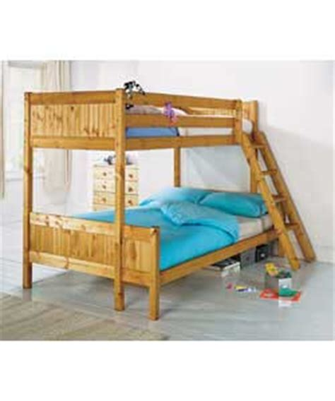 Pine Triple Bunk Bed Frame Only Review Compare Prices Bunk Beds Uk Only