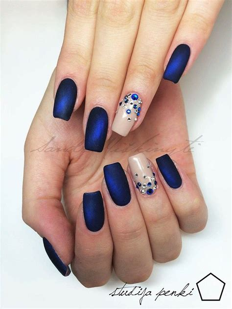 Blue Nails Trend 2008 by Best 25 Blue Nails Ideas On
