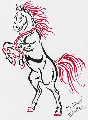 tribal horse tattoo designs images designs