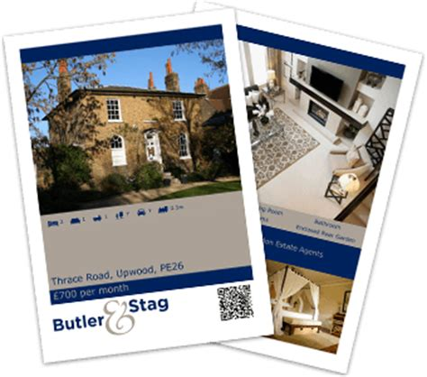free window card templates estate agents business news from estates it