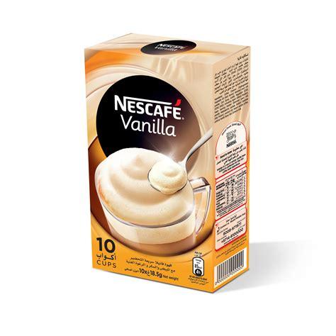 Instan Vanila 1 buy nescafe vanilla instant foaming mix 18 5 gm x 10 sachet in uae abu dhabi qatar