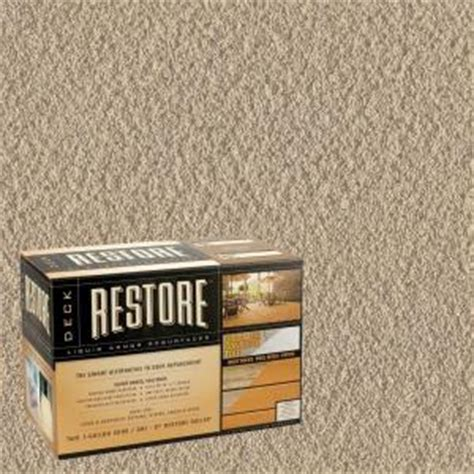 restore deck liquid armor resurfacer 2 gal kit water based exterior coating discontinued