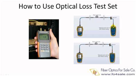 Alat Test Fiber Optic fiber optic loss test set