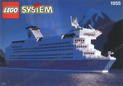 lego  color  promotional set cruise ship set