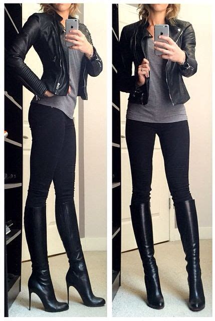 9 Edgy Leather Jackets For Winter by I Everything About This It S Simple Casual Edgy