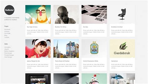 tumblr themes minimal grid 40 great wordpress themes with grid layouts creative