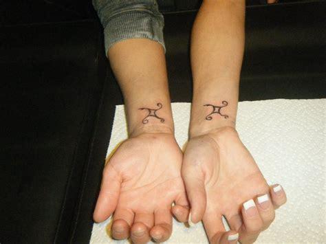 gemini twin tattoos by missjean on deviantart
