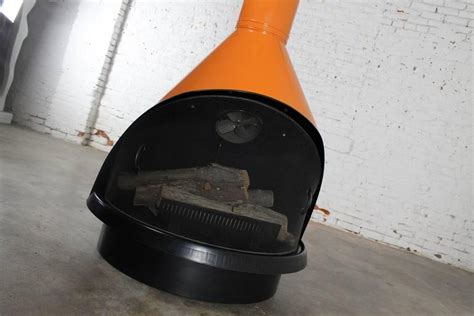 Cone Fireplace by Mid Century Electric Cone Shaped Freestanding Fireplace
