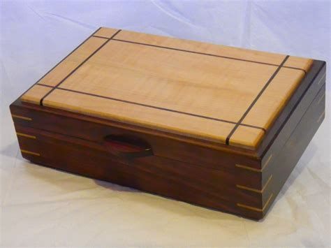 Handcrafted Box - handmade jewelry box 11 12 by 3gwoodworking custommade