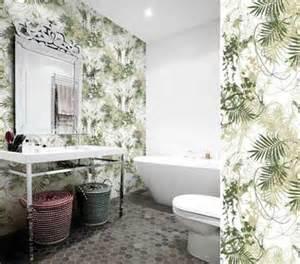 papier peint salle de bain sp 233 cial et murs